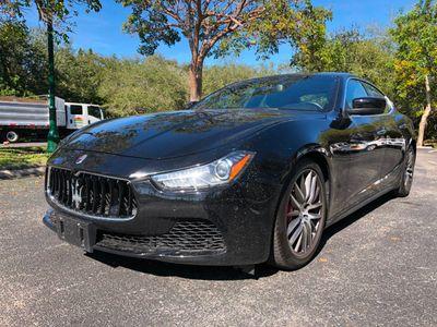 2015 Maserati Ghibli 4dr Sedan S Q4