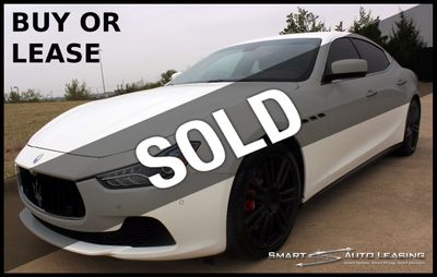 2015 Maserati Ghibli S Q4 w/PREMIUM, LUXURY & SPORT PACKAGES - Click to see full-size photo viewer