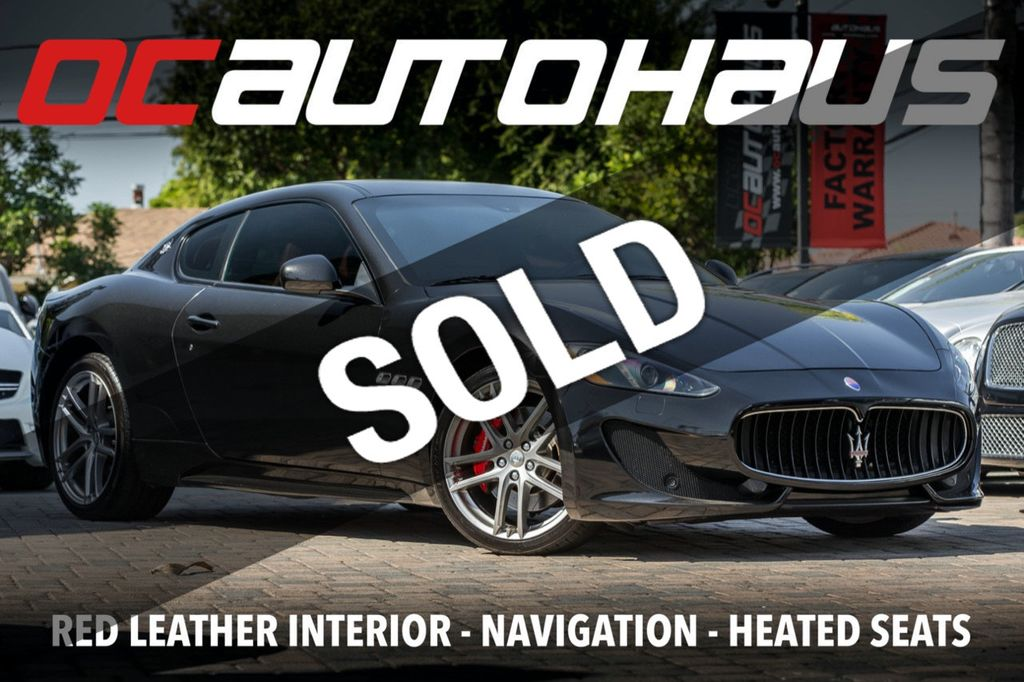 Used Maserati Granturismo >> 2015 Used Maserati Granturismo 2dr Coupe Sport At Oc Autohaus Serving Westminster Ca Iid 19415310