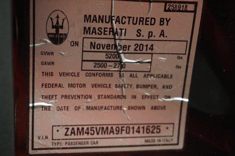 2015 Maserati GranTurismo Convertible 2dr Sport - 18488847 - 27