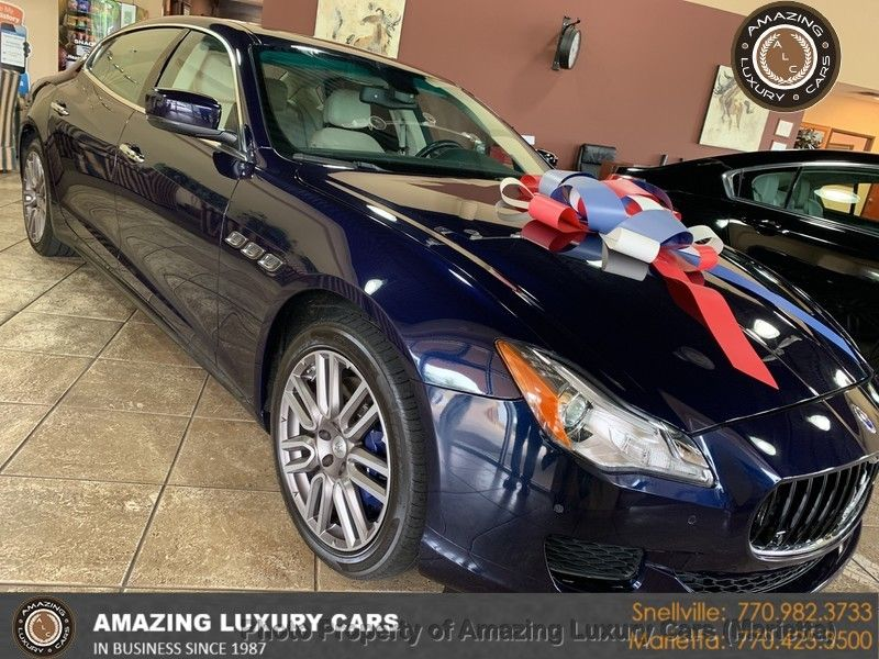 2015 Maserati Quattroporte >> 2015 Used Maserati Quattroporte 4dr Sedan S Q4 At Amazing Luxury Cars Serving Snellville Ga Iid 19389024