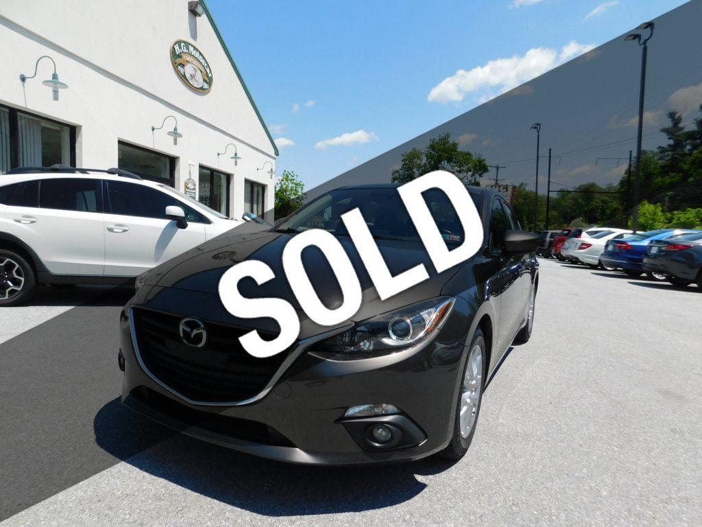 2015 Used Mazda Mazda3 4dr Sedan Automatic i Grand Touring at HG Motorcar  Corporation Serving Downingtown, PA, IID 18907590