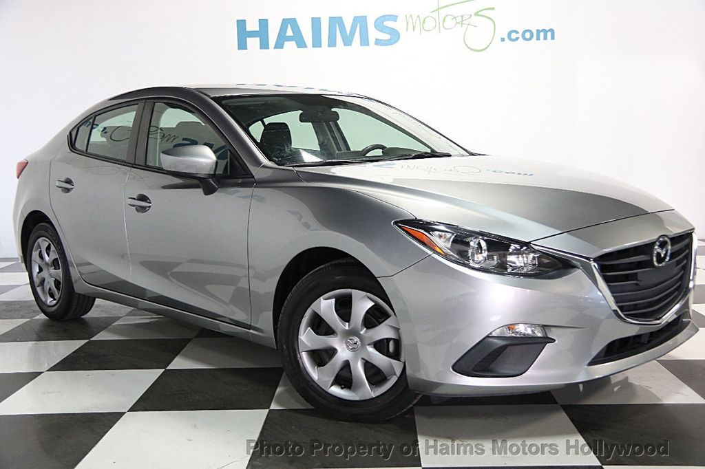 2015 used mazda mazda3 4dr sedan automatic i sport at haims motors serving fort lauderdale. Black Bedroom Furniture Sets. Home Design Ideas