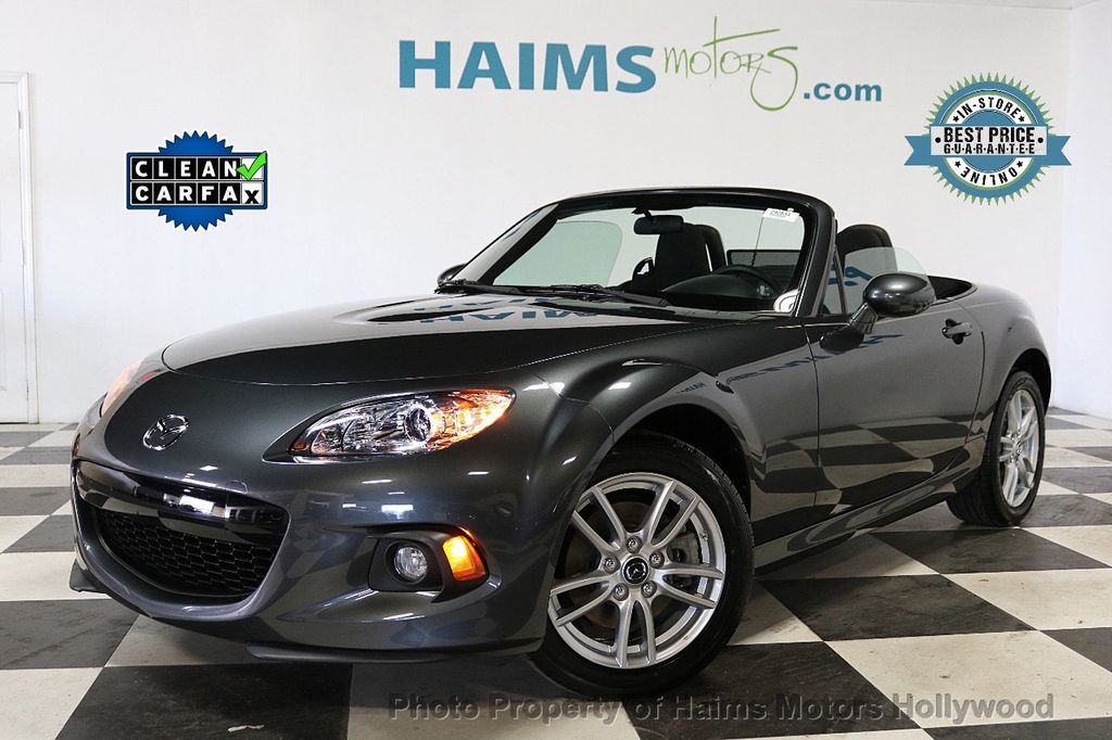 2015 Mazda MX-5 Miata 2dr Convertible Automatic Club - 18491764 - 0