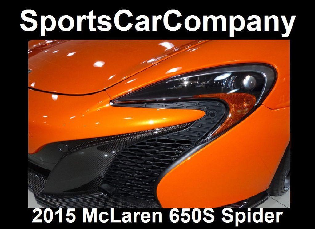 2015 McLaren 650S 2dr Convertible Spider - 15483160 - 17