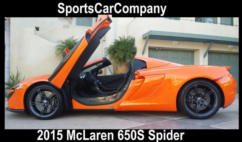 2015 McLaren 650S 2dr Convertible Spider - 15483160 - 1
