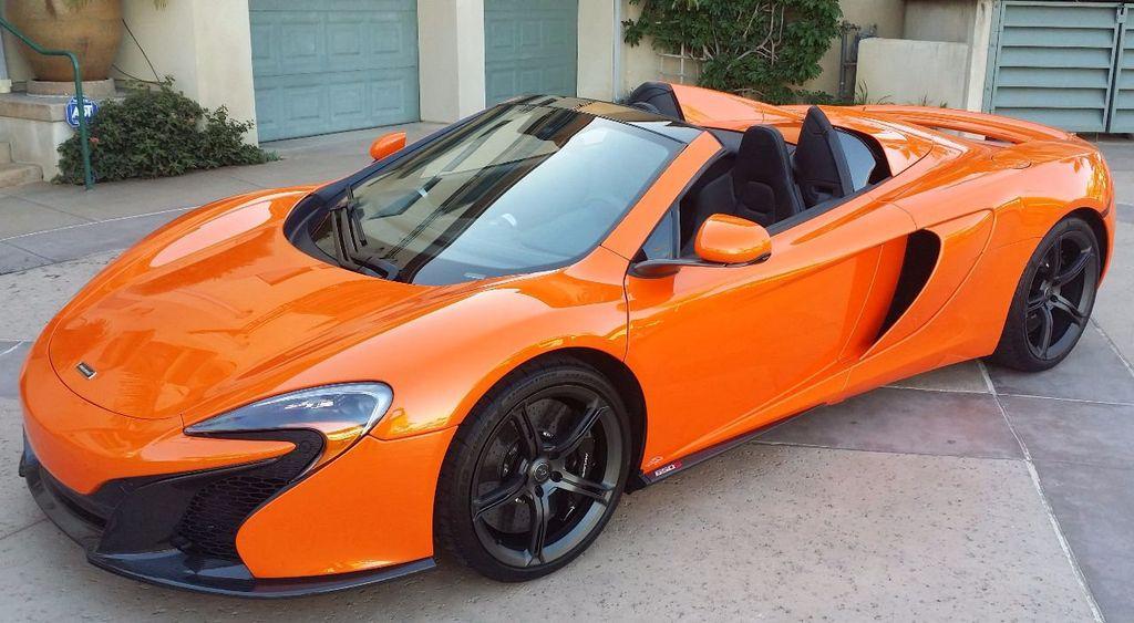 2015 McLaren 650S 2dr Convertible Spider - 15483160 - 2