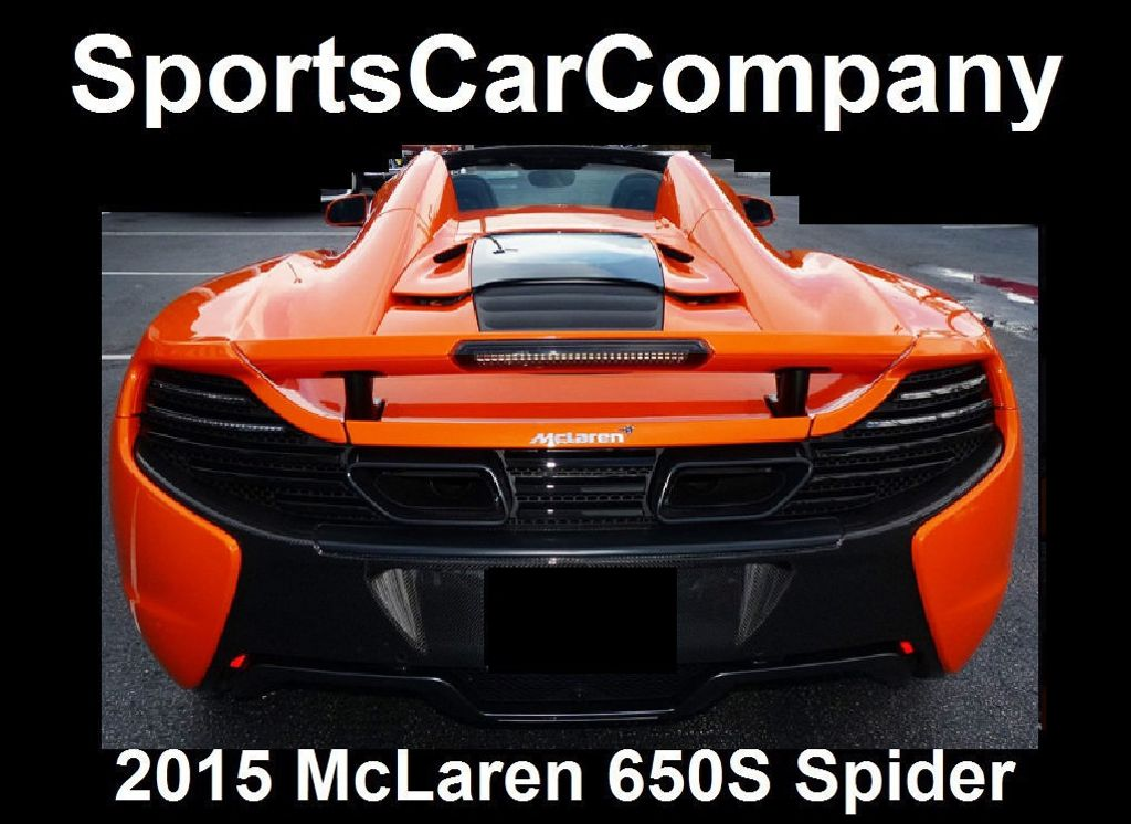 2015 McLaren 650S 2dr Convertible Spider - 15483160 - 35