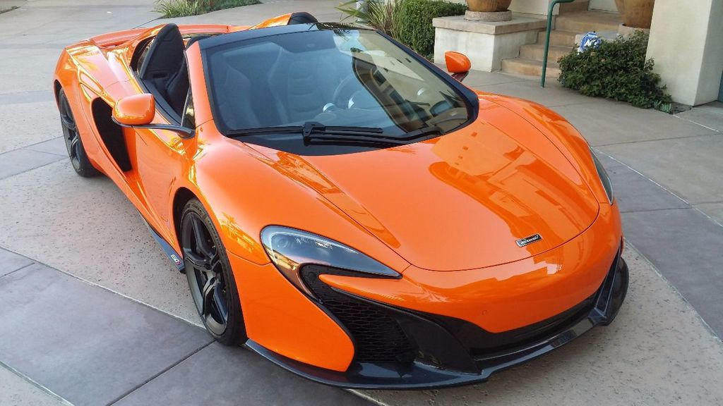 2015 Used McLaren 650S 2dr Convertible Spider At Sports