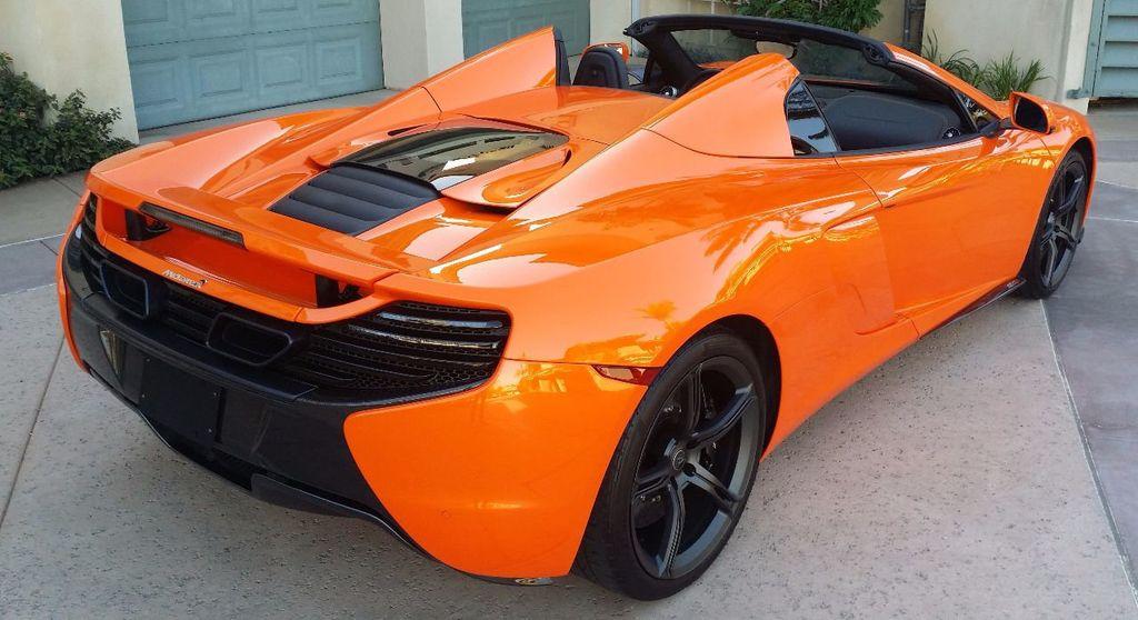 2015 McLaren 650S 2dr Convertible Spider - 15483160 - 4