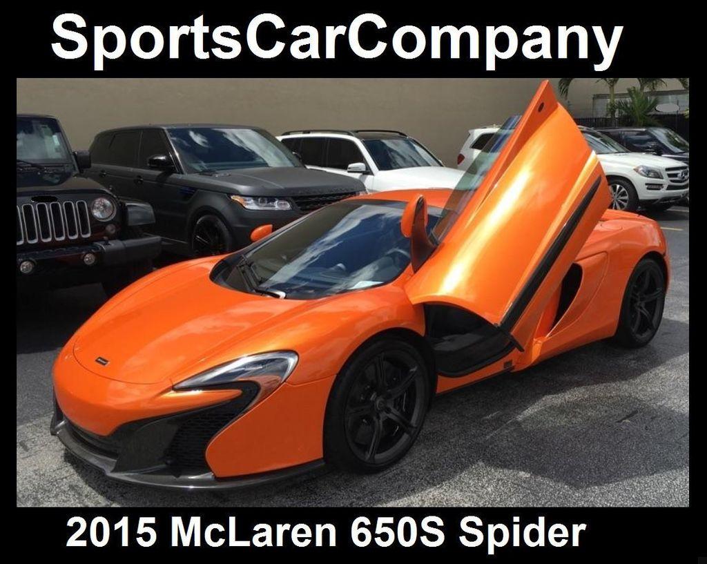 2015 McLaren 650S 2dr Convertible Spider - 15483160 - 63