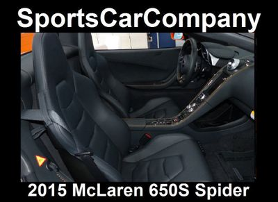 2015 McLaren 650S 2dr Convertible Spider - Click to see full-size photo viewer