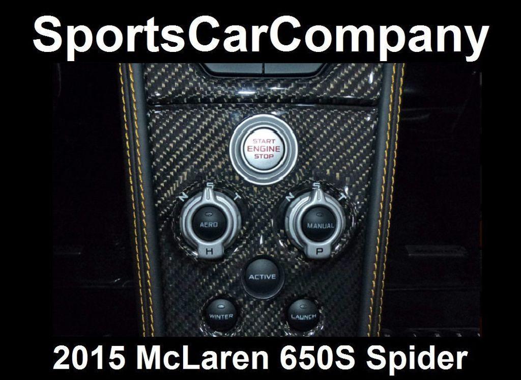 2015 McLaren 650S 2dr Convertible Spider - 15483160 - 69