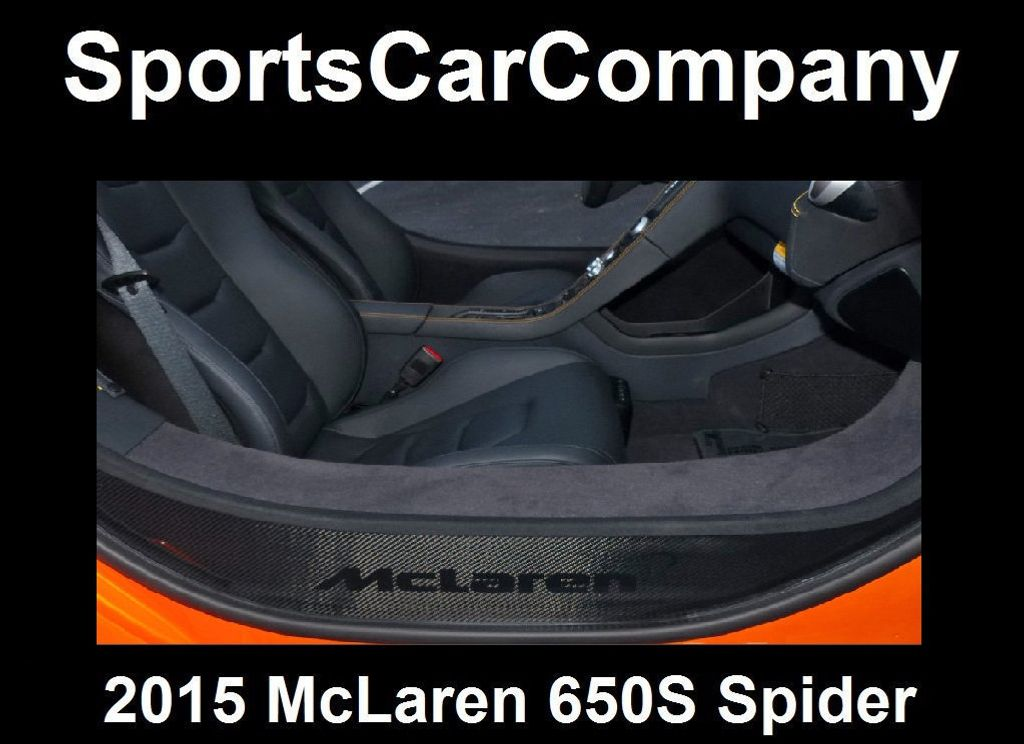 2015 McLaren 650S 2dr Convertible Spider - 15483160 - 71
