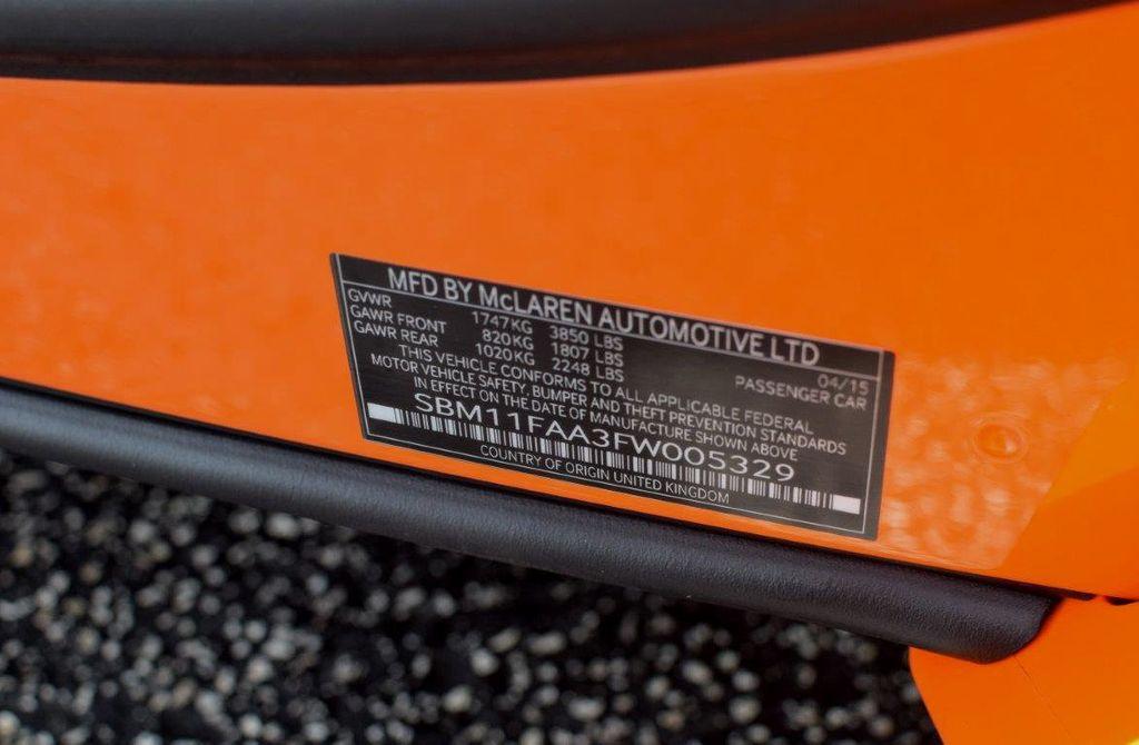 2015 McLaren 650S 2dr Convertible Spider - 15483160 - 73