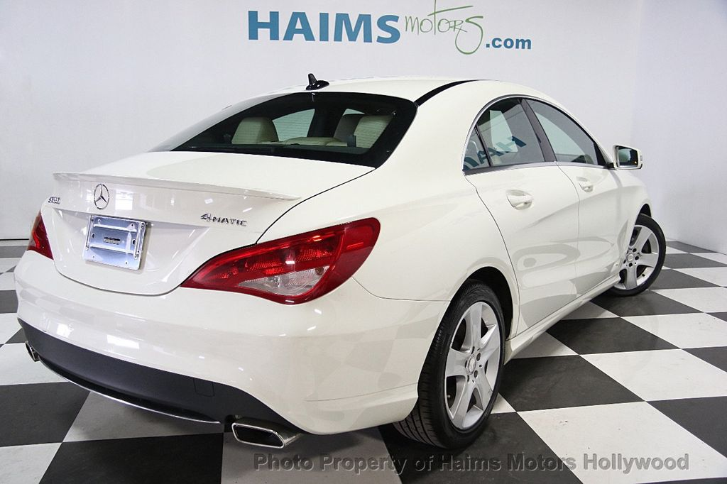 2015 used mercedes benz cla 4dr sedan cla 250 4matic at haims motors serving fort lauderdale. Black Bedroom Furniture Sets. Home Design Ideas