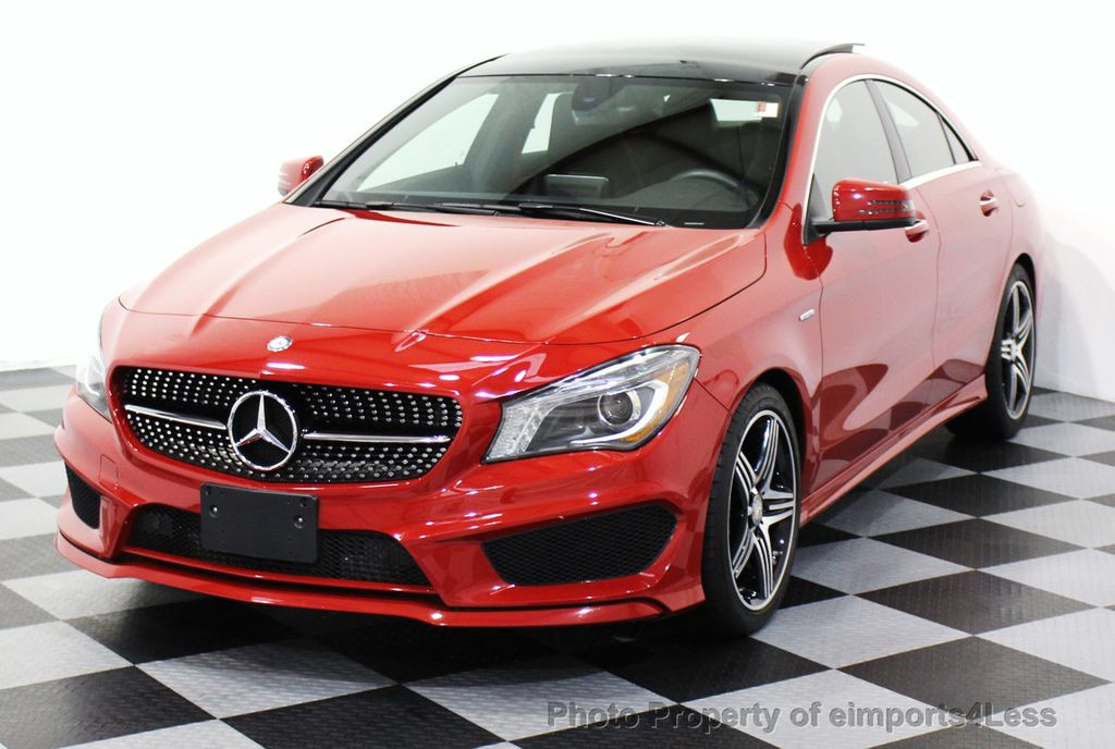 2015 used mercedes benz certified cla250 4matic amg sport for Mercedes benz cla250 used