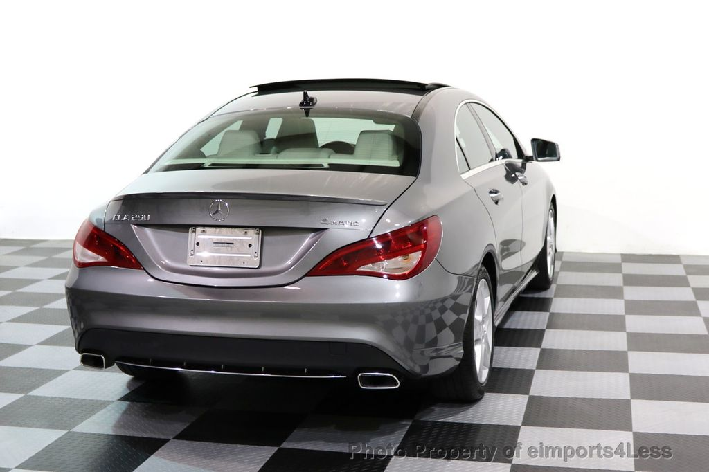 2015 Mercedes-Benz CLA CERTIFIED CLA250 4Matic AWD HK CAMERA NAVIGATION - 16901823 - 32
