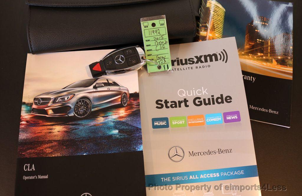 2015 Mercedes-Benz CLA CERTIFIED CLA250 4Matic AWD KeyLess GO CAMERA NAVI - 17369563 - 39