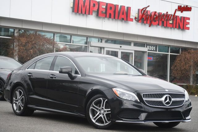 2015 Mercedes-Benz CLS 4dr Sedan CLS 400 4MATIC