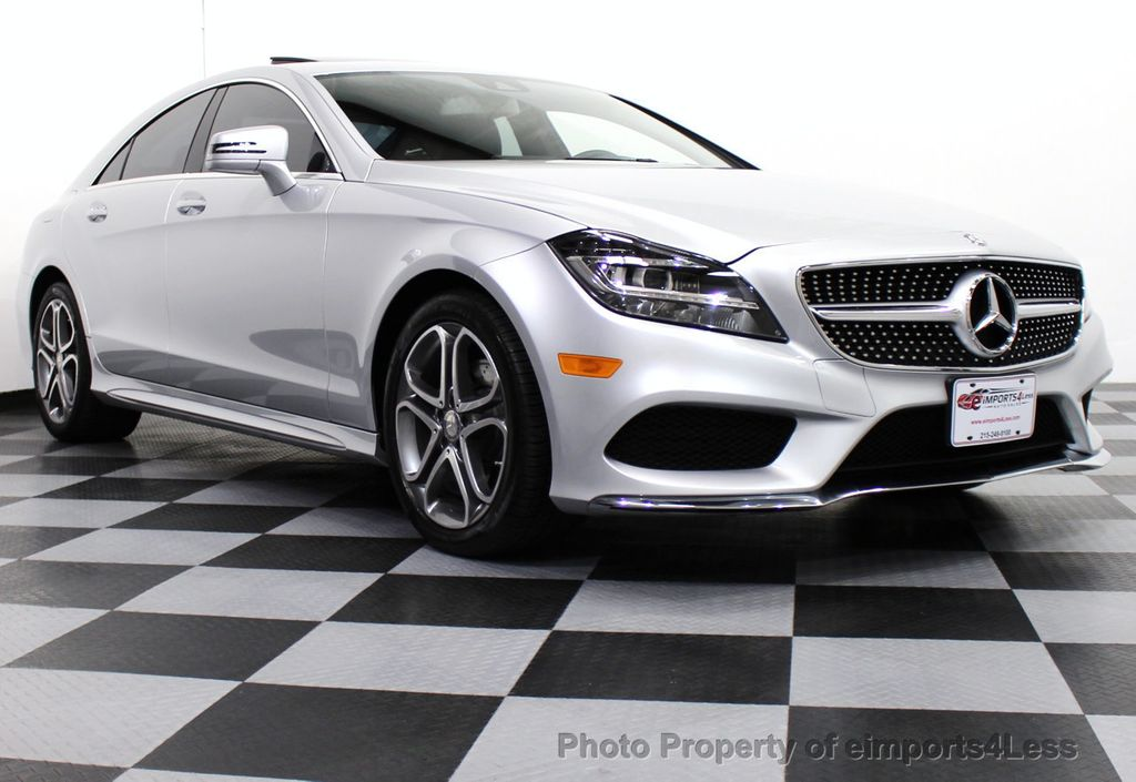 2015 used mercedes benz cls certified cls400 4matic awd for Used mercedes benz cl