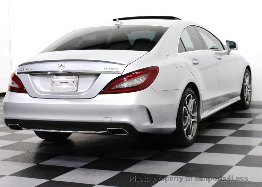 2015 used mercedes benz cls certified cls400 4matic awd for Mercedes benz cls used