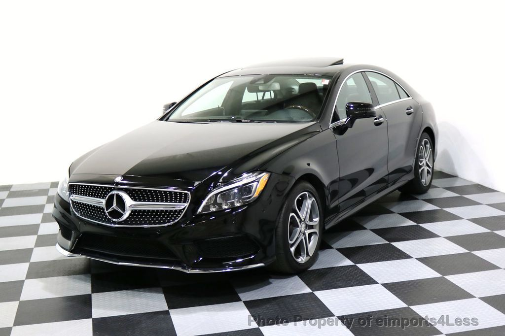 2015 Mercedes-Benz CLS CERTIFIED CLS400 4Matic AWD P2 Lane Tracking CAM NAV - 17270736 - 0