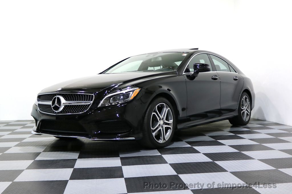 2015 Mercedes-Benz CLS CERTIFIED CLS400 4Matic AWD P2 Lane Tracking CAM NAV - 17270736 - 13
