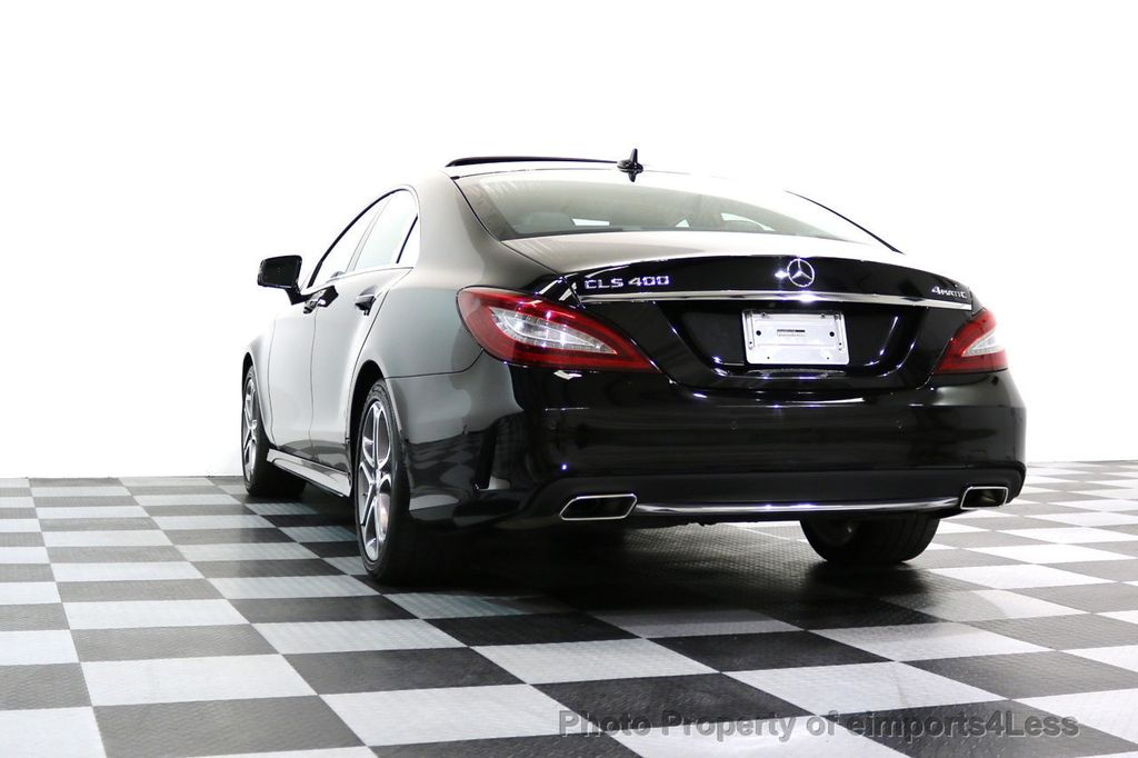 2015 Mercedes-Benz CLS CERTIFIED CLS400 4Matic AWD P2 Lane Tracking CAM NAV - 17270736 - 15