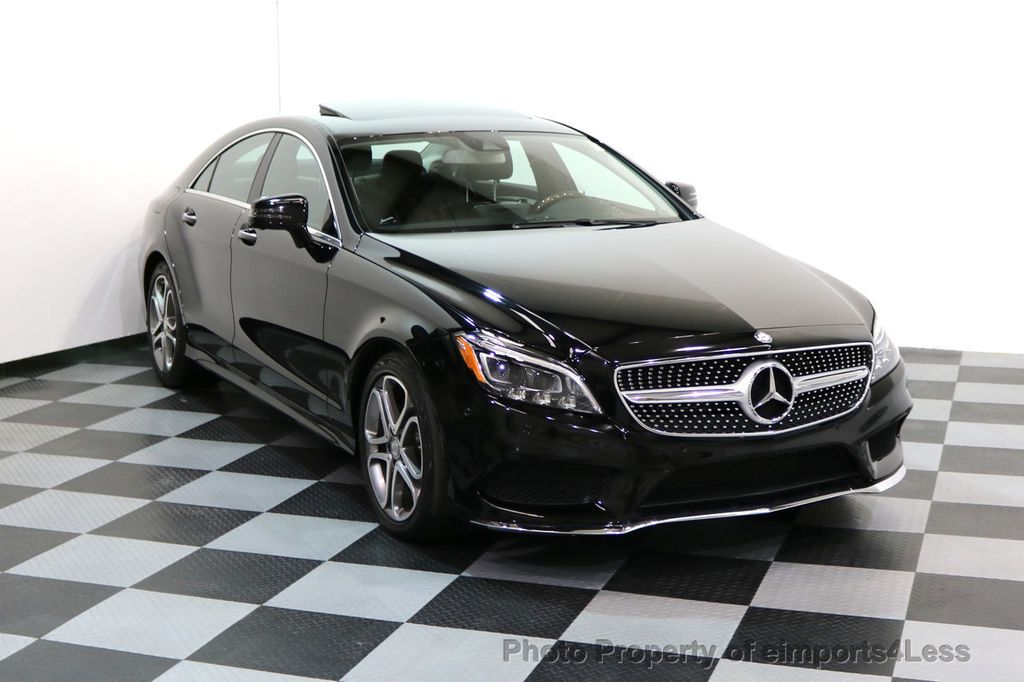 2015 Mercedes-Benz CLS CERTIFIED CLS400 4Matic AWD P2 Lane Tracking CAM NAV - 17270736 - 1