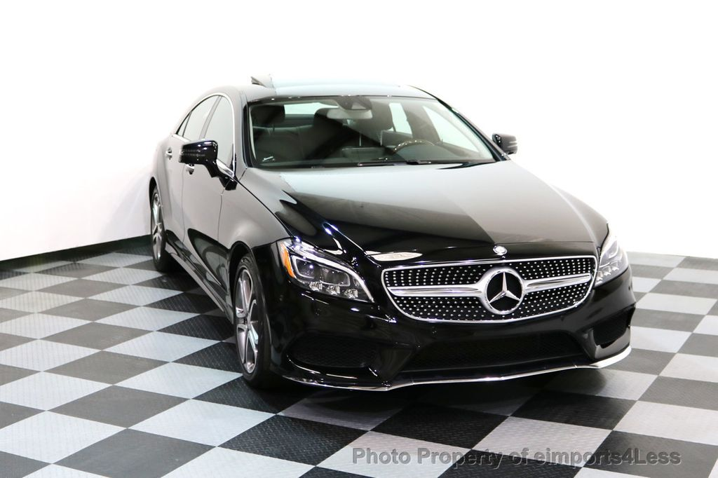 2015 Mercedes-Benz CLS CERTIFIED CLS400 4Matic AWD P2 Lane Tracking CAM NAV - 17270736 - 27