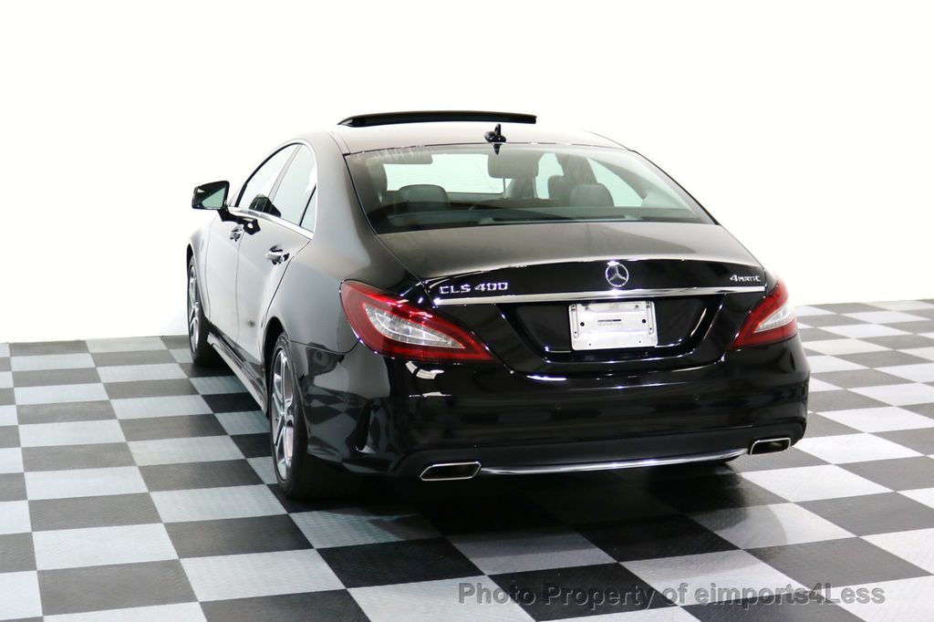 2015 Mercedes-Benz CLS CERTIFIED CLS400 4Matic AWD P2 Lane Tracking CAM NAV - 17270736 - 28