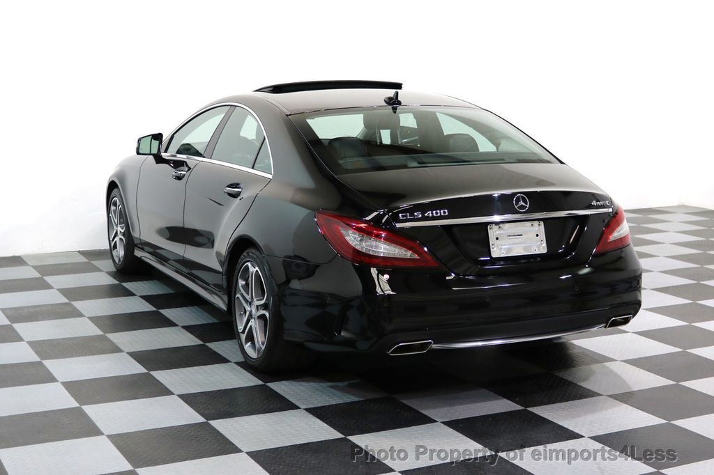 2015 Mercedes-Benz CLS CERTIFIED CLS400 4Matic AWD P2 Lane Tracking CAM NAV - 17270736 - 2