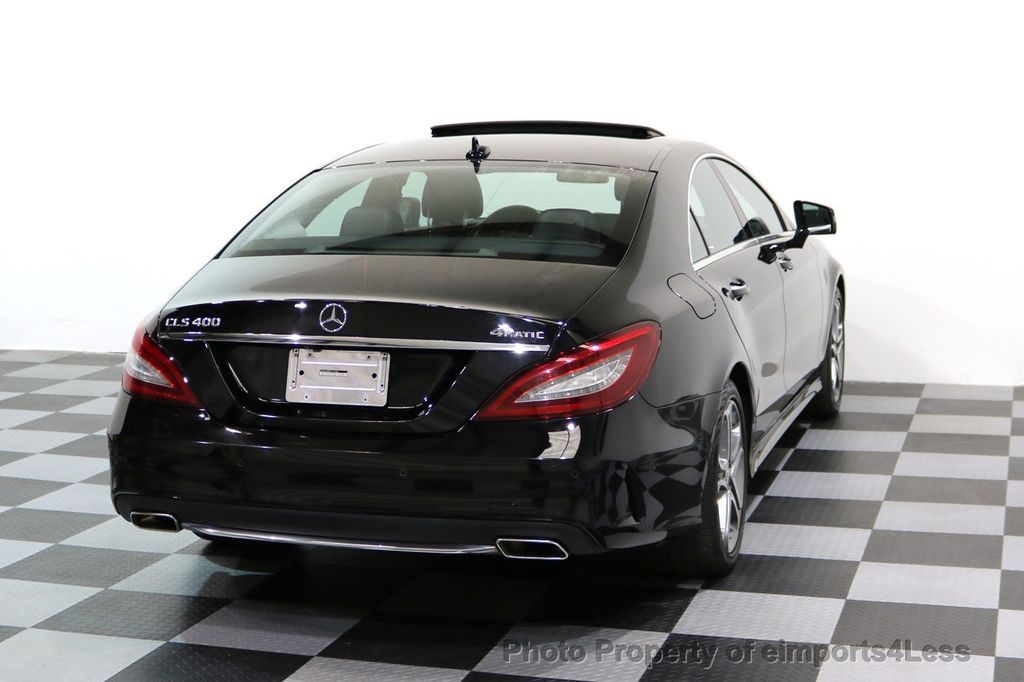 2015 Mercedes-Benz CLS CERTIFIED CLS400 4Matic AWD P2 Lane Tracking CAM NAV - 17270736 - 30