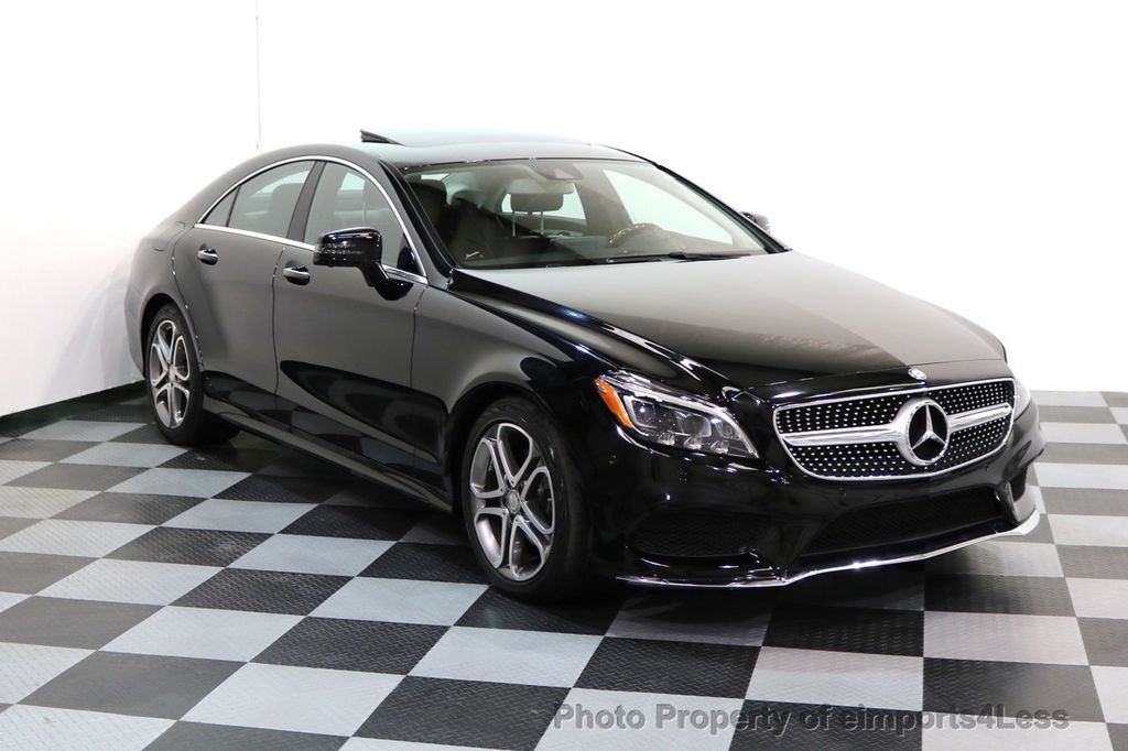 2015 Mercedes-Benz CLS CERTIFIED CLS400 4Matic AWD P2 Lane Tracking CAM NAV - 17270736 - 42
