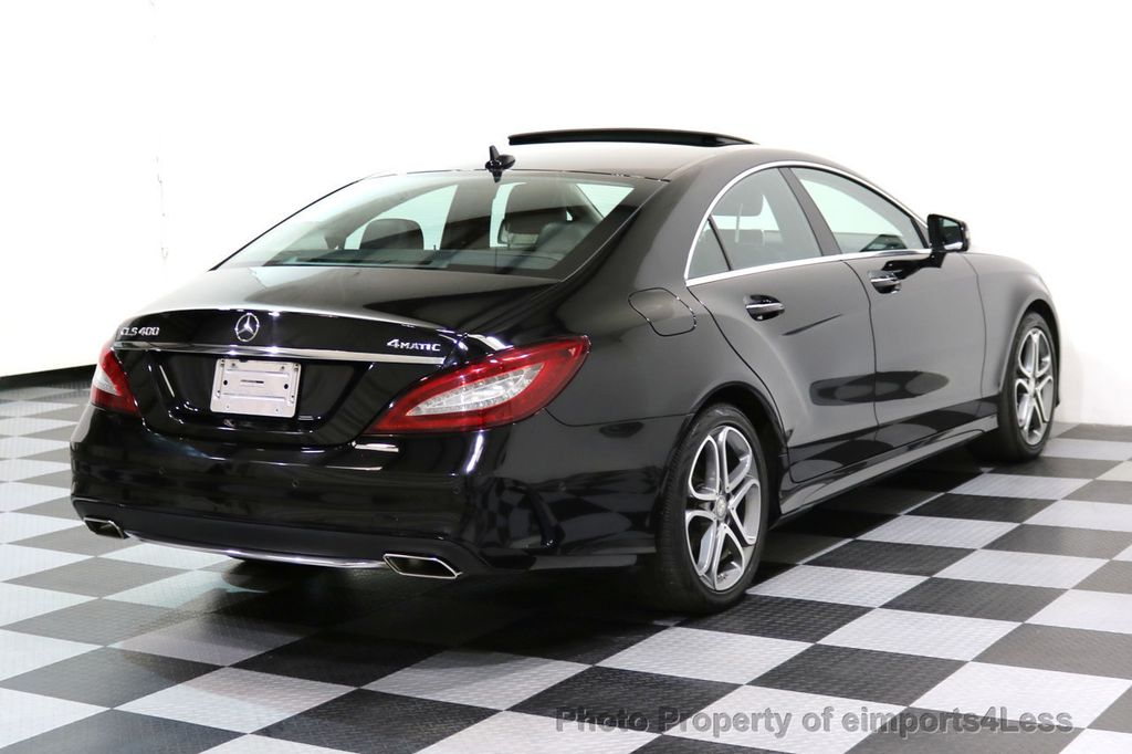 2015 Mercedes-Benz CLS CERTIFIED CLS400 4Matic AWD P2 Lane Tracking CAM NAV - 17270736 - 44
