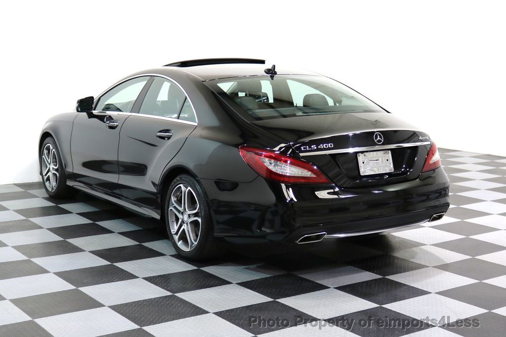 2015 Mercedes-Benz CLS CERTIFIED CLS400 4Matic AWD P2 Lane Tracking CAM NAV - 17270736 - 46