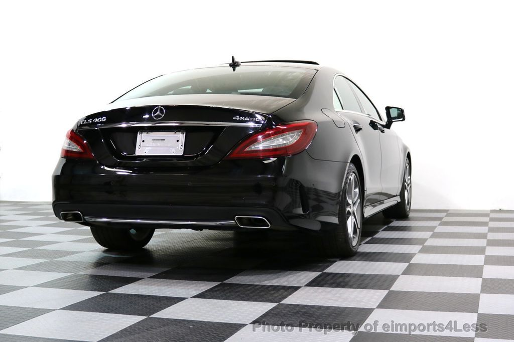 2015 Mercedes-Benz CLS CERTIFIED CLS400 4Matic AWD P2 Lane Tracking CAM NAV - 17270736 - 47