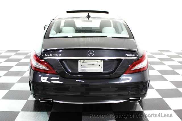 2015 Mercedes-Benz CLS CERTIFIED CLS400 4Matic SPORT PACKAGE AWD NAVI - 16260352 - 15