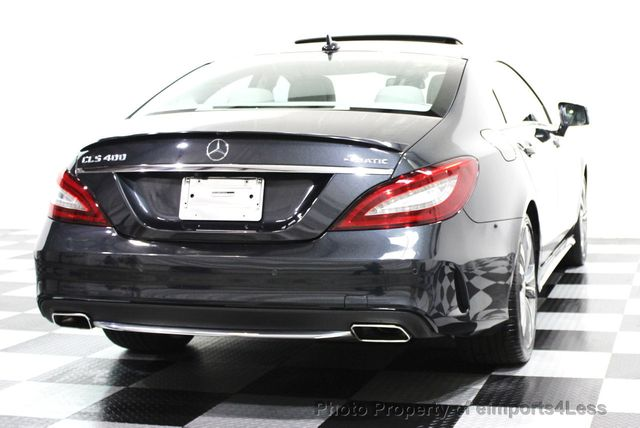 2015 Mercedes-Benz CLS CERTIFIED CLS400 4Matic SPORT PACKAGE AWD NAVI - 16260352 - 23