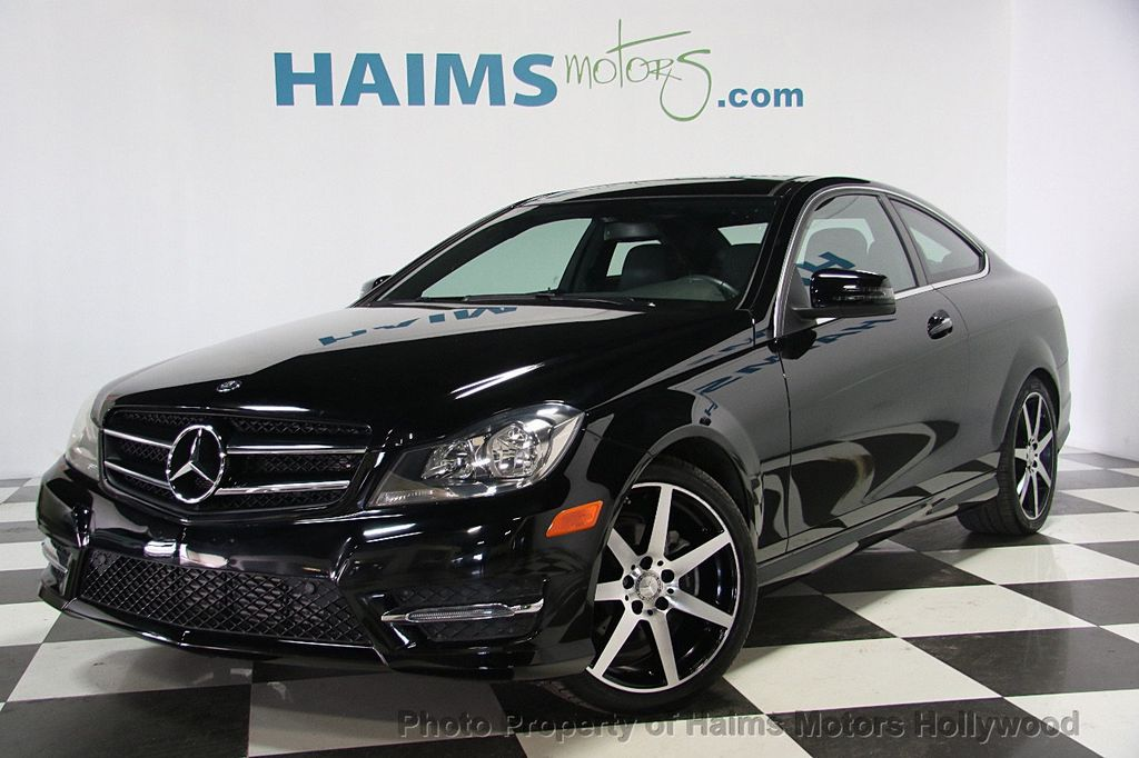 2015 Used Mercedes Benz C Class 2dr Coupe C 250 RWD at Haims Motors