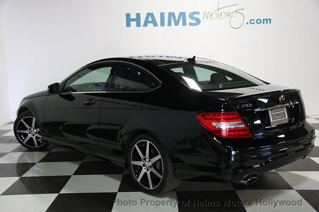 2015 used mercedes benz c class 2dr coupe c 250 rwd at haims motors ft lauderdale serving. Black Bedroom Furniture Sets. Home Design Ideas