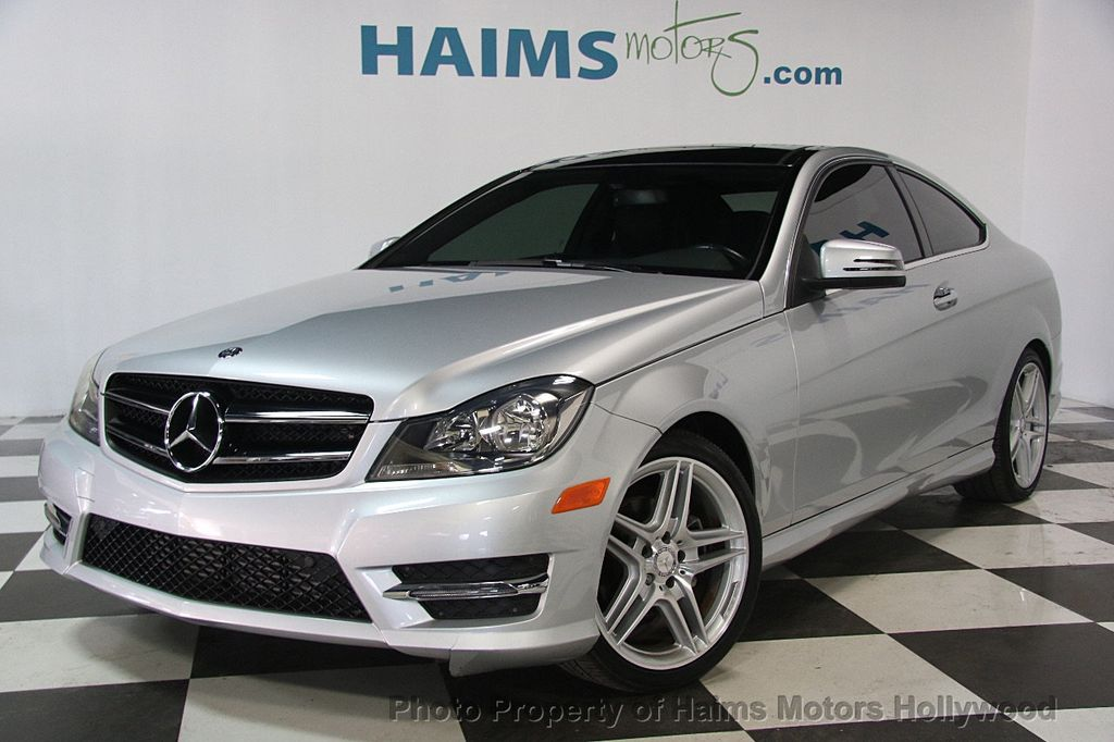 2015 used mercedes benz c class 2dr coupe c 250 rwd at for Mercedes benz sanford fl