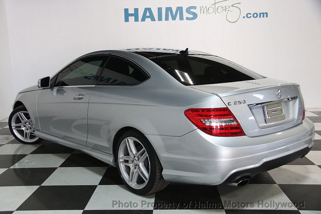 2015 used mercedes benz c class 2dr coupe c 250 rwd at haims motors serving fort lauderdale. Black Bedroom Furniture Sets. Home Design Ideas