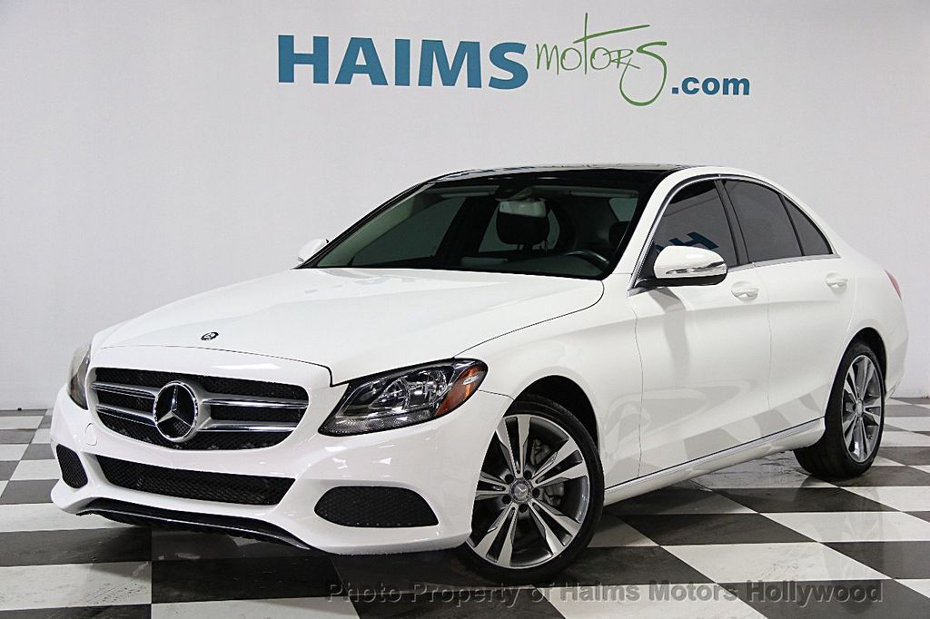 2015 used mercedes benz c class 4dr sedan c300 4matic at haims motors serving fort lauderdale. Black Bedroom Furniture Sets. Home Design Ideas