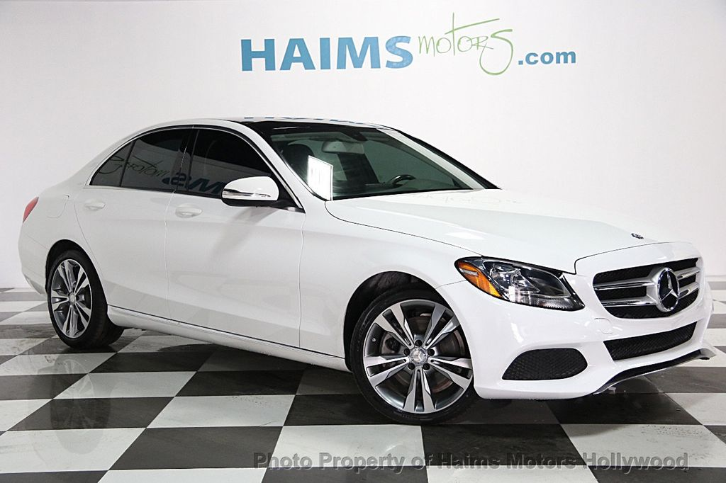 2015 used mercedes benz c class 4dr sedan c300 4matic at for White mercedes benz c300