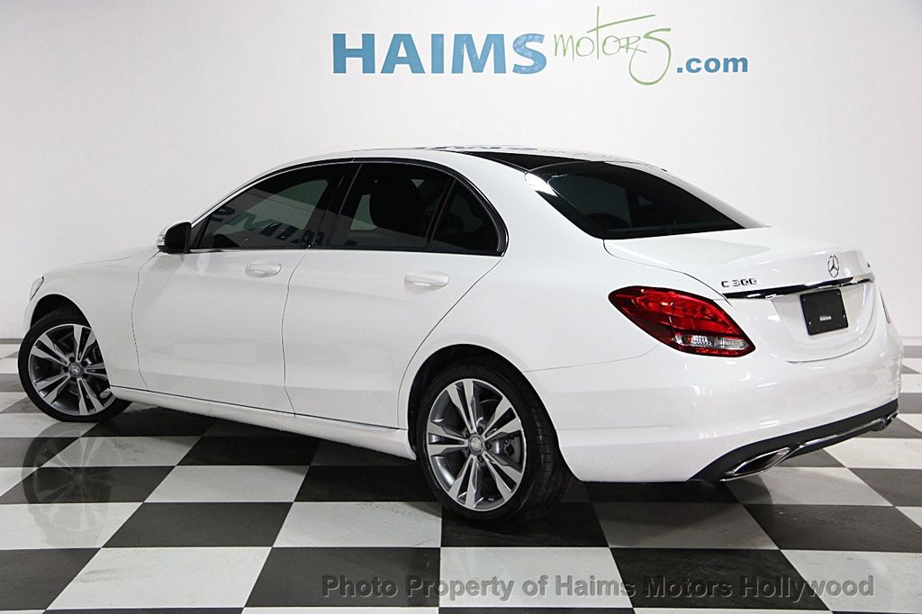 2015 Used Mercedes Benz C Class 4dr Sedan C300 4matic At Haims