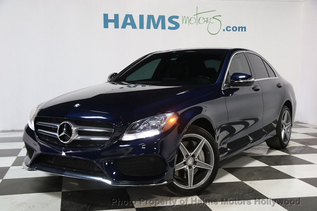 2015 used mercedes benz c class 4dr sedan c300 4matic at