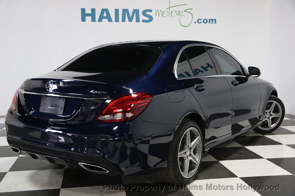 2015 Mercedes-Benz C-Class 4dr Sedan C300 4MATIC - 16160158 - 5