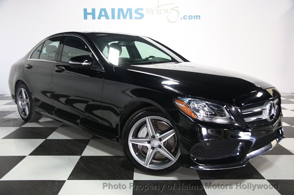 2015 used mercedes benz c class 4dr sedan c 300 4matic at for Mercedes benz c300 coupe used